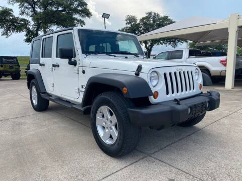 2007 Jeep Wrangler Unlimited for sale at Thornhill Motor Company in Hudson Oaks, TX