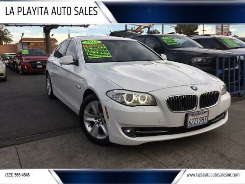2013 BMW 5 Series for sale at LA PLAYITA AUTO SALES INC in South Gate CA