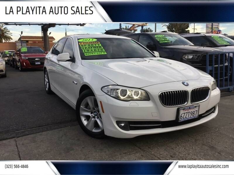 2013 BMW 5 Series for sale at 2955 FIRESTONE BLVD in South Gate CA