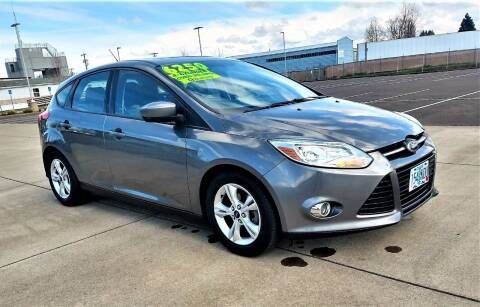 2012 Ford Focus for sale at SWIFT AUTO SALES INC in Salem OR