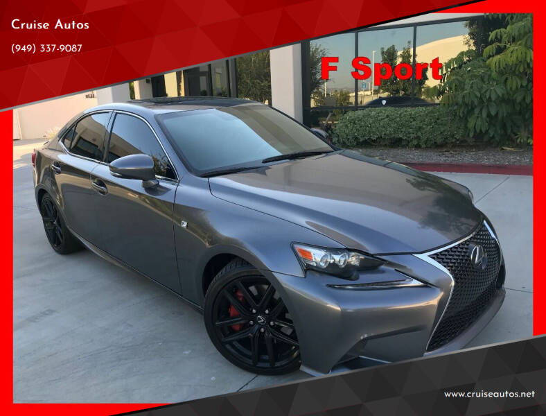 2016 Lexus IS 200t for sale at Cruise Autos in Corona CA