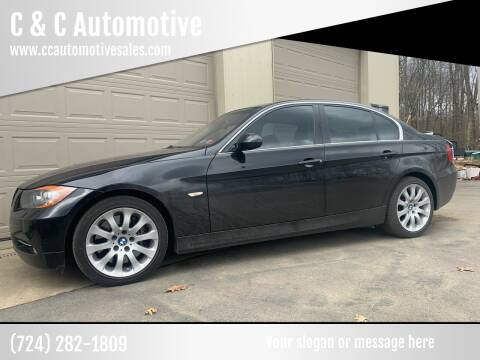 2008 BMW 3 Series for sale at C & C Automotive in Chicora PA
