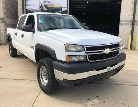 2007 Chevrolet Silverado 2500HD Classic for sale at KAYALAR MOTORS in Houston TX