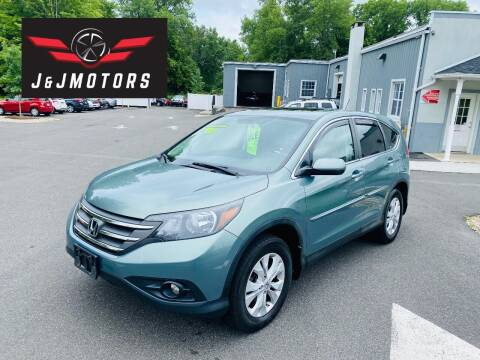 2012 Honda CR-V for sale at J & J MOTORS in New Milford CT