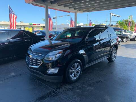 2016 Chevrolet Equinox for sale at American Auto Sales in Hialeah FL