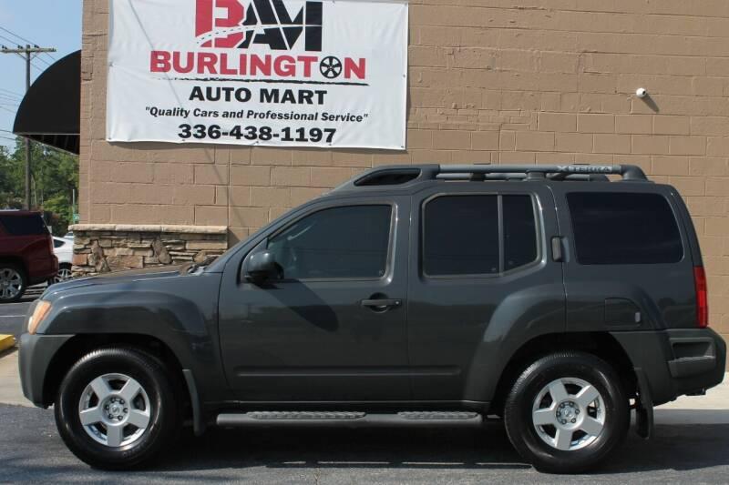 2008 Nissan Xterra for sale at Burlington Auto Mart in Burlington NC