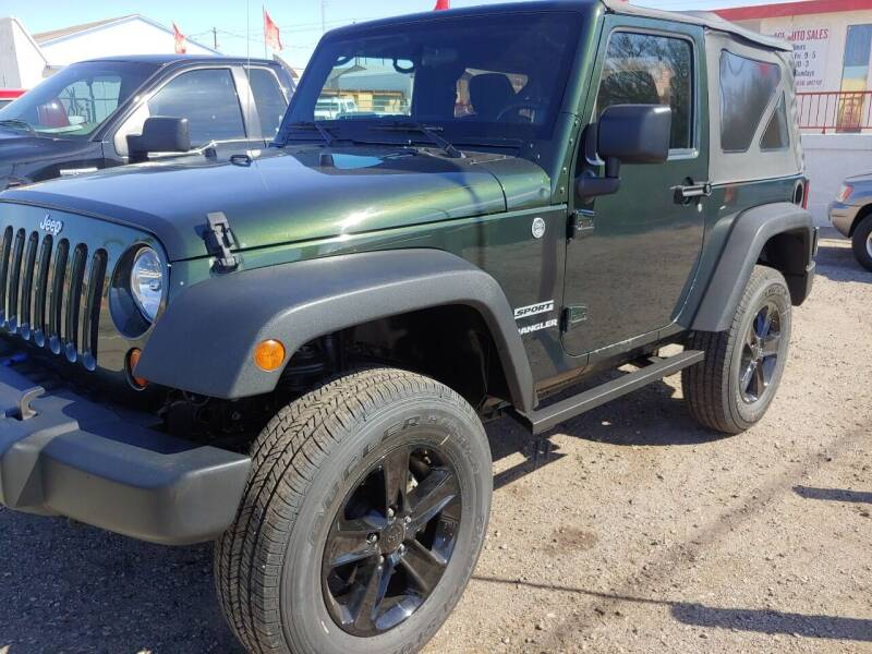 2012 Jeep Wrangler for sale at ACE AUTO SALES in Lake Havasu City AZ