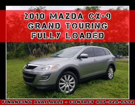 2010 Mazda CX-9 for sale at AFFORDABLE ONE LLC in Orlando FL
