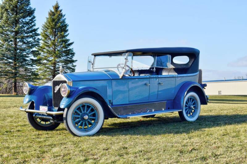 1925 Pierce Arrow  Model 80 Passenger Touring  for sale at Hooked On Classics in Watertown MN