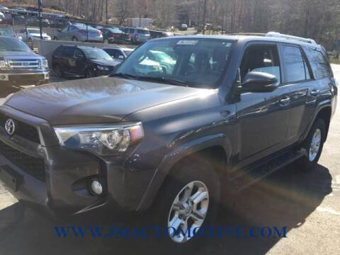 2014 Toyota 4Runner for sale at J & M Automotive in Naugatuck CT