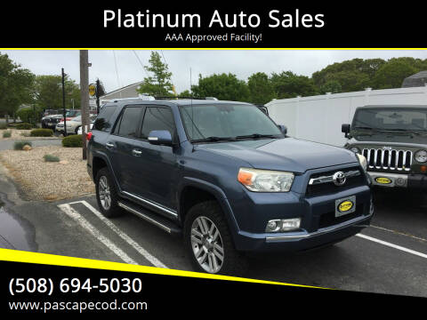 2010 Toyota 4Runner for sale at Platinum Auto Sales in South Yarmouth MA