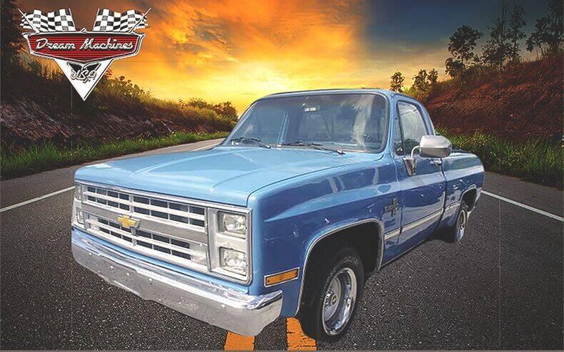 1986 Chevrolet Silverado 1500 for sale at Dream Machines USA in Lantana FL