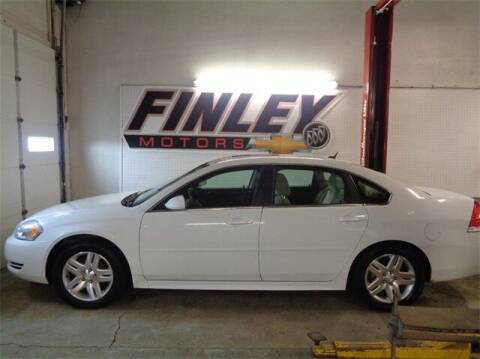 2012 Chevrolet Impala for sale at Finley Motors in Finley ND