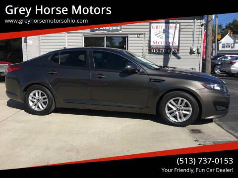 2011 Kia Optima for sale at Grey Horse Motors in Hamilton OH