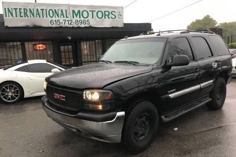 2005 GMC Yukon for sale at International Motors Inc. in Nashville TN