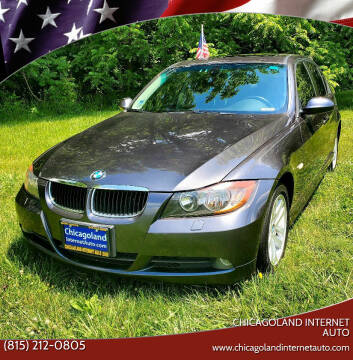 2006 BMW 3 Series for sale at Chicagoland Internet Auto - 410 N Vine St New Lenox IL, 60451 in New Lenox IL