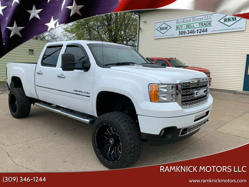 2011 GMC Sierra 2500HD for sale at RamKnick Motors LLC in Pekin IL