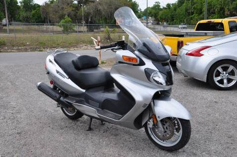2004 Suzuki Burgman for sale at Elite Motorcar, LLC in Deland FL
