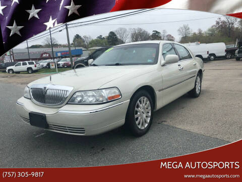 2007 Lincoln Town Car for sale at Mega Autosports in Chesapeake VA