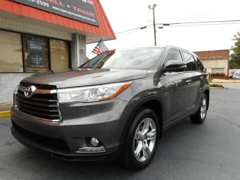 2016 Toyota Highlander for sale at Super Sports & Imports in Jonesville NC