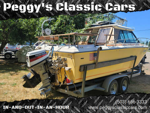 1978 Sea Ray Cruiser for sale at Peggy's Classic Cars in Oregon City OR