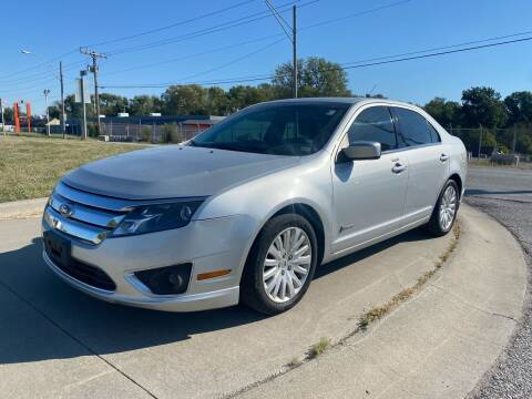 2010 Ford Fusion Hybrid for sale at Xtreme Auto Mart LLC in Kansas City MO