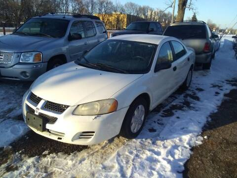 2004 Dodge Stratus for sale at Continental Auto Sales in White Bear Lake MN