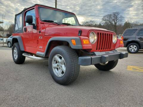 2005 Jeep Wrangler for sale at MX Motors LLC in Ashland MA