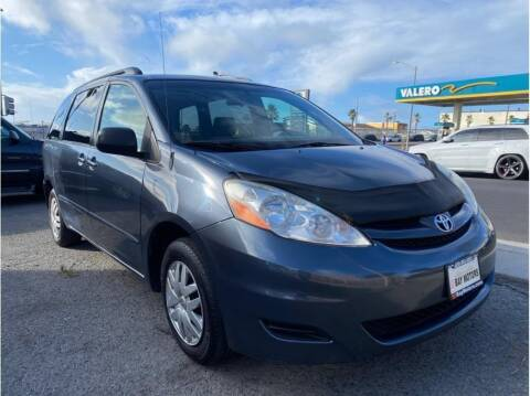 2008 Toyota Sienna for sale at SF Bay Motors in Daly City CA