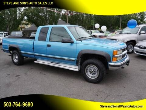 1995 Chevrolet C/K 2500 Series for sale at Steve & Sons Auto Sales in Happy Valley OR
