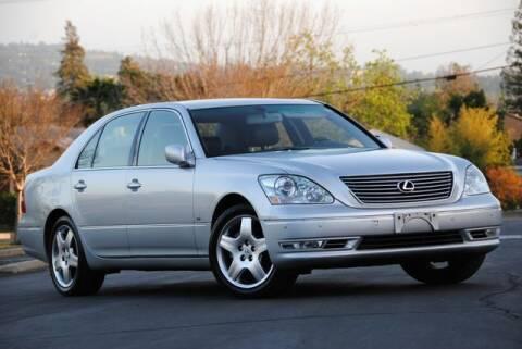 2004 Lexus LS 430 for sale at VSTAR in Walnut Creek CA