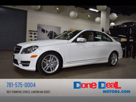 2014 Mercedes-Benz C-Class for sale at DONE DEAL MOTORS in Canton MA