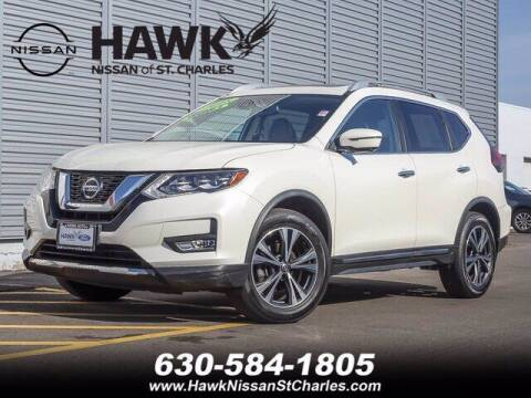 2018 Nissan Rogue for sale at Hawk Ford of St. Charles in St Charles IL