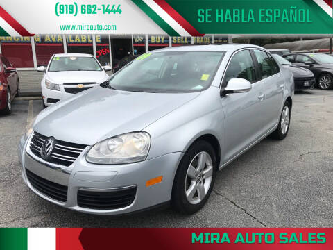 2009 Volkswagen Jetta for sale at Mira Auto Sales in Raleigh NC