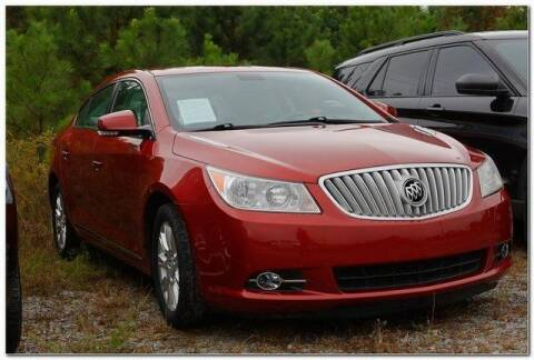 2012 Buick LaCrosse for sale at WHITE MOTORS INC in Roanoke Rapids NC
