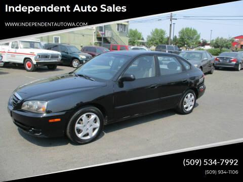 2005 Hyundai Elantra for sale at Independent Auto Sales in Spokane Valley WA