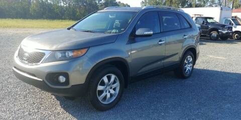 2012 Kia Sorento for sale at Jackson Automotive in Smithfield NC