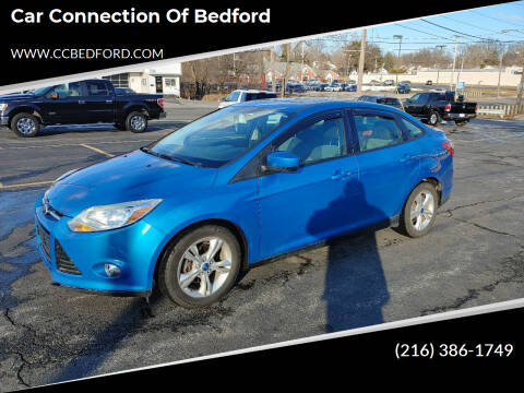 2012 Ford Focus for sale at Car Connection of Bedford in Bedford OH