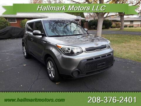 2016 Kia Soul for sale at HALLMARK MOTORS LLC in Boise ID
