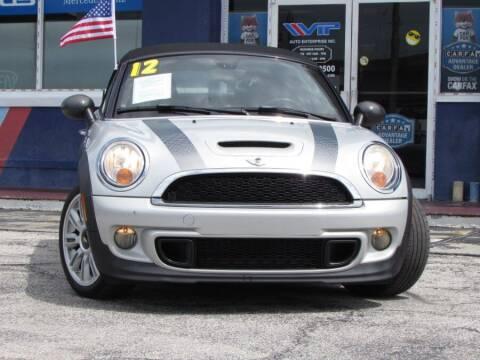 2012 MINI Cooper Roadster for sale at VIP AUTO ENTERPRISE INC. in Orlando FL
