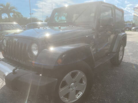 2010 Jeep Wrangler for sale at Coastal Auto Ranch, Inc. in Port Saint Lucie FL