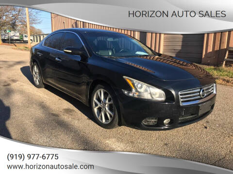 2014 Nissan Maxima for sale at Horizon Auto Sales in Raleigh NC