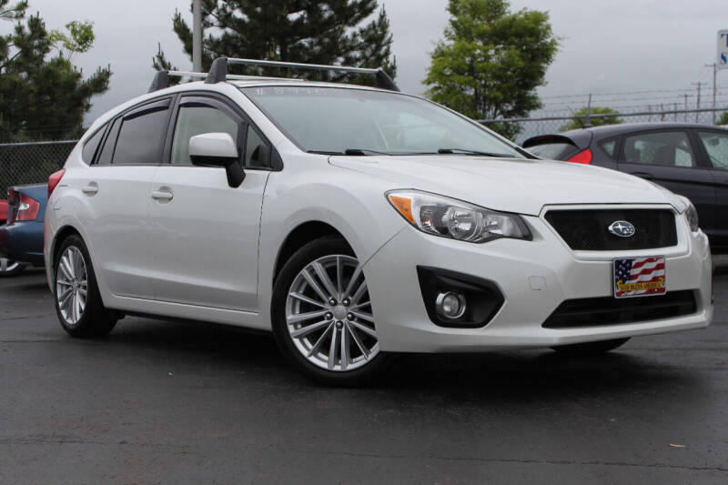 2013 Subaru Impreza for sale at Dan Paroby Auto Sales in Scranton PA
