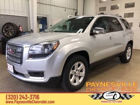 2015 GMC Acadia for sale at Paynesville Chevrolet Buick in Paynesville MN