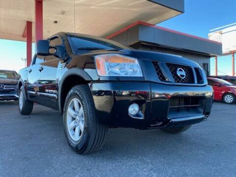 2012 Nissan Titan for sale at JQ Motorsports East in Tucson AZ