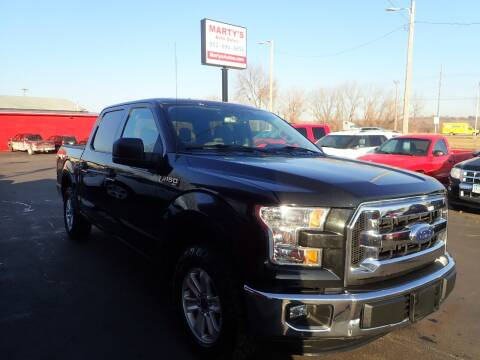 2015 Ford F-150 for sale at Marty's Auto Sales in Savage MN