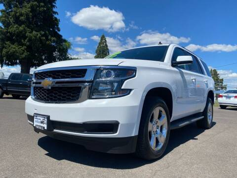 2015 Chevrolet Tahoe for sale at Pacific Auto LLC in Woodburn OR