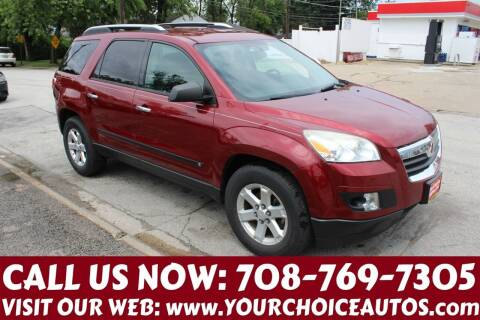 2008 Saturn Outlook for sale at Your Choice Autos in Posen IL