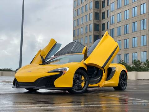 2015 McLaren 650S Coupe for sale at FALCON MOTOR GROUP in Orlando FL