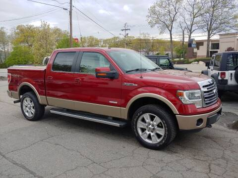 2013 Ford F-150 for sale at FIORE'S AUTO & TRUCK SALES in Shrewsbury MA